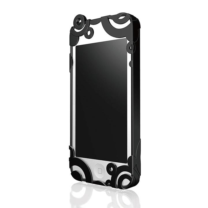 iPhone5 RIPPLE ハードケース ジェットブラック