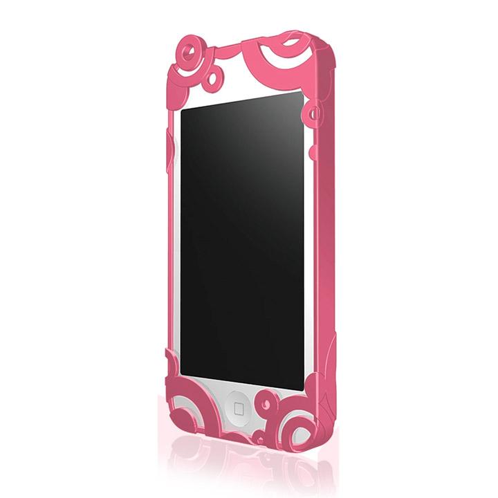 iPhone5 RIPPLE ハードケース チェリーピンク
