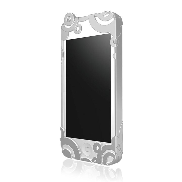 iPhone5 RIPPLE ハードケース ライトグレー