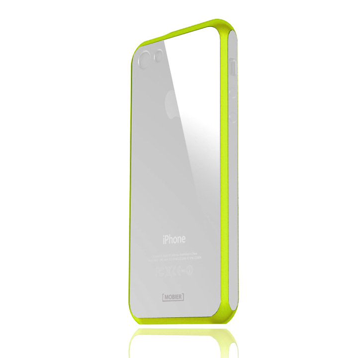 iPhone SE/5s/5 ケース iPhone5 STONE ハイブリッドケース シトラスグリーン_0