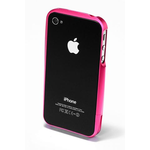 【iPhone4/4s】GRAMAS メタルバンパー 02シリーズ(ピンク)_3