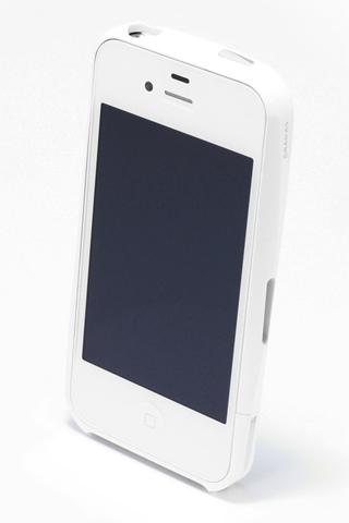 【iPhone4/4s】GRAMAS メタルバンパー 02シリーズ(ホワイト)