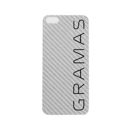 GRAMAS パックパネル 012シリーズ ホワイト iPhone SE/5s/5背面パネル