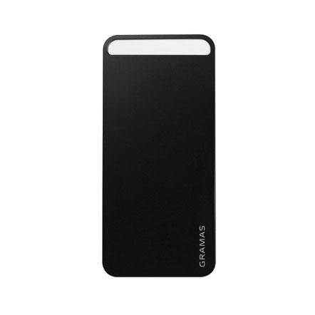 【iPhone SE/5s/5】GRAMAS パックパネル 022シリーズ(ブラック)