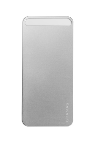 iPhone SE/5s/5 ケース 【iPhone SE/5s/5】GRAMAS パックパネル 022シリーズ(シルバー)