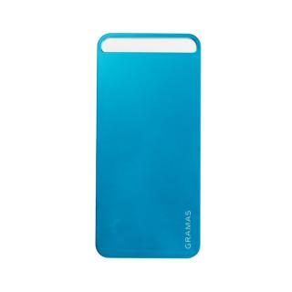 【iPhone SE/5s/5】GRAMAS パックパネル 022シリーズ(ブルー)