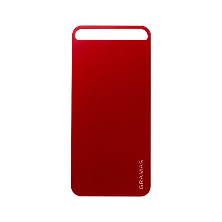 【iPhone SE/5s/5】GRAMAS パックパネル 022シリーズ(レッド)