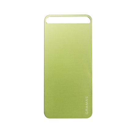【iPhone SE/5s/5】GRAMAS パックパネル 022シリーズ(グリーン)