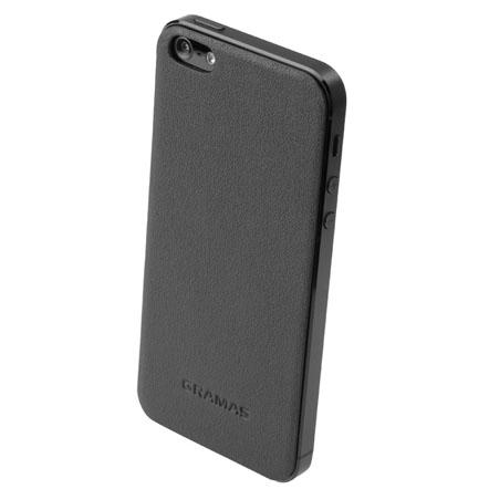 GRAMAS パックパネル 023シリーズ ブラック iPhone SE/5s/5背面パネル