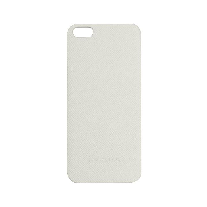 GRAMAS パックパネル 023シリーズ ホワイト iPhone SE/5s/5背面パネル