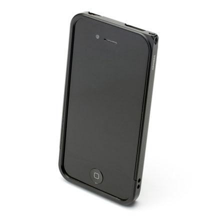 【iPhone4/4s】GRAMAS メタルバンパー 04シリーズ(ブラック)