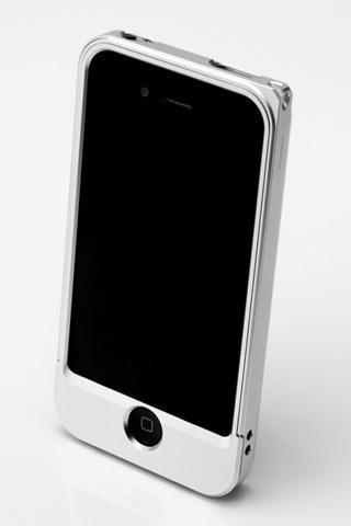 その他のiPhone/iPod ケース 【iPhone4/4s】GRAMAS メタルバンパー 04シリーズ(シルバー)