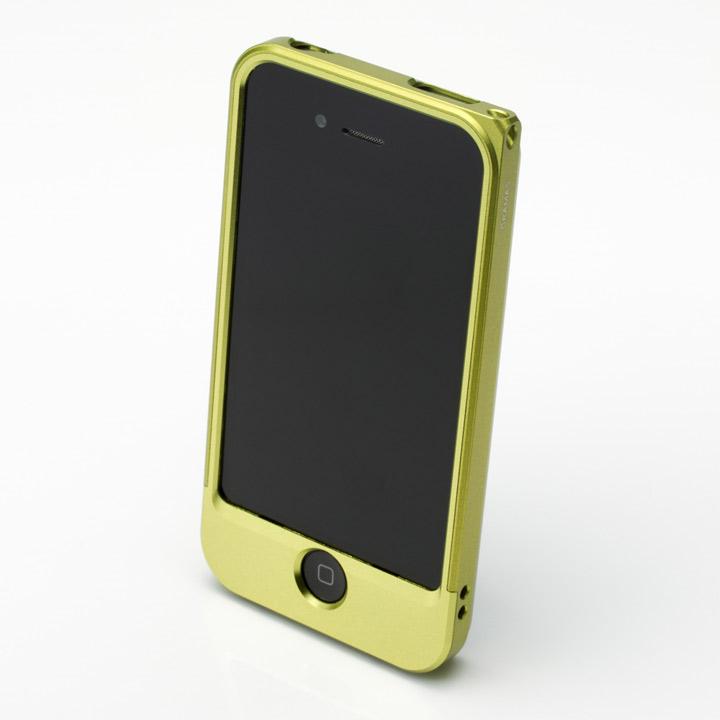 【iPhone4/4s】GRAMAS メタルバンパー 04シリーズ(グリーン)_0