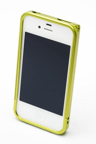 【iPhone4/4s】GRAMAS メタルバンパー 04シリーズ(グリーン)_3