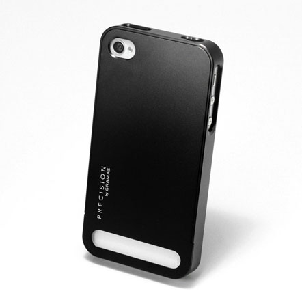 【iPhone4/4s】PRECISION Full Metal case B(黒)