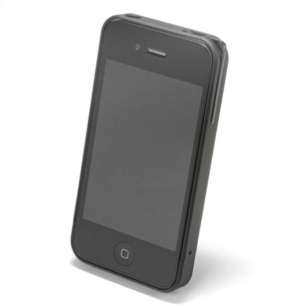 【iPhone4/4s】PRECISION Combi case B(黒)