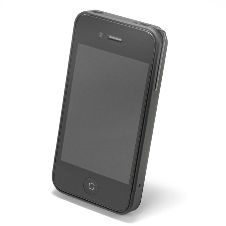【iPhone4/4s】PRECISION Combi case B(黒)_0
