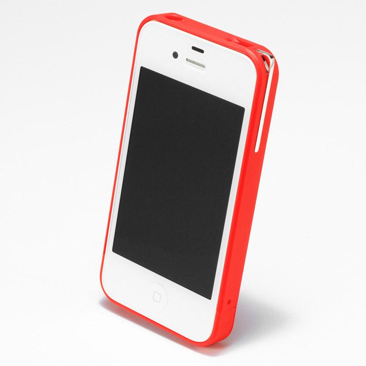 【iPhone4/4s】PRECISION Combi case R(赤)_0
