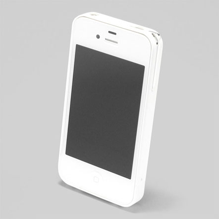 【iPhone4/4s】PRECISION Combi case W(白)