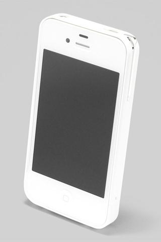 【iPhone4/4s】PRECISION Combi case W(白)