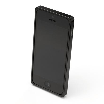 【iPhone SE/5s/5】GRAMAS メタルバンパー 512シリーズ(ブラック)