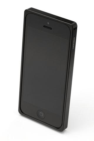 iPhone SE/5s/5 ケース 【iPhone SE/5s/5】GRAMAS メタルバンパー 512シリーズ(ブラック)