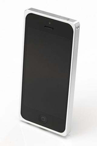 iPhone SE/5s/5 ケース 【iPhone SE/5s/5】GRAMAS メタルバンパー 512シリーズ(シルバー)