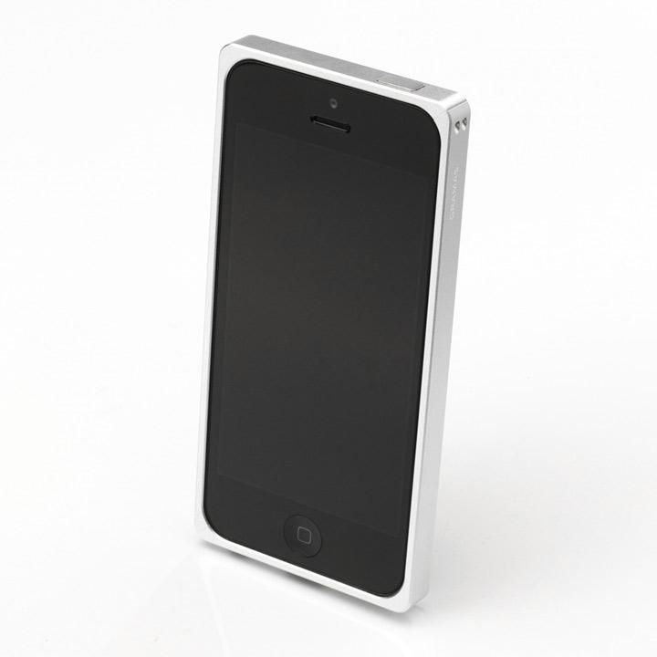 【iPhone SE/5s/5ケース】【iPhone SE/5s/5】GRAMAS メタルバンパー 512シリーズ(シルバー)_0
