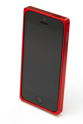 iPhone SE/5s/5 ケース 【iPhone SE/5s/5】GRAMAS メタルバンパー 512シリーズ(レッド)