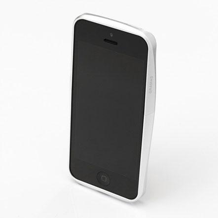 【iPhone SE/5s/5】GRAMAS メタルバンパー 522シリーズ(シルバー)