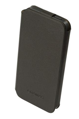 【iPhone SE ケース】【iPhone SE/5s/5】GRAMAS レザー手帳型ケース 412シリーズ(ブラック)