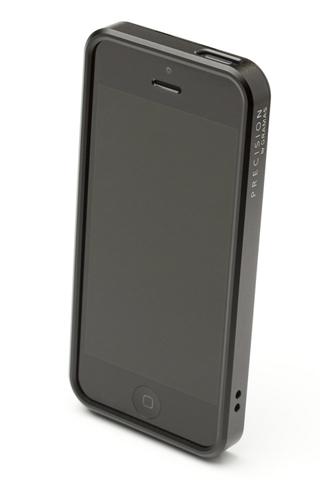 【iPhone SE/5s/5】PRECISION フルメタルケース 312(ブラック)