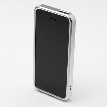 【iPhone SE/5s/5】PRECISION フルメタルケース 312(シルバー)