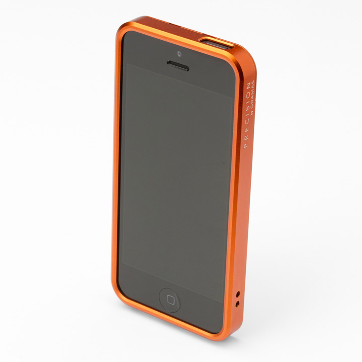 iPhone SE/5s/5 ケース 【iPhone SE/5s/5】PRECISION フルメタルケース 312(オレンジ)_0
