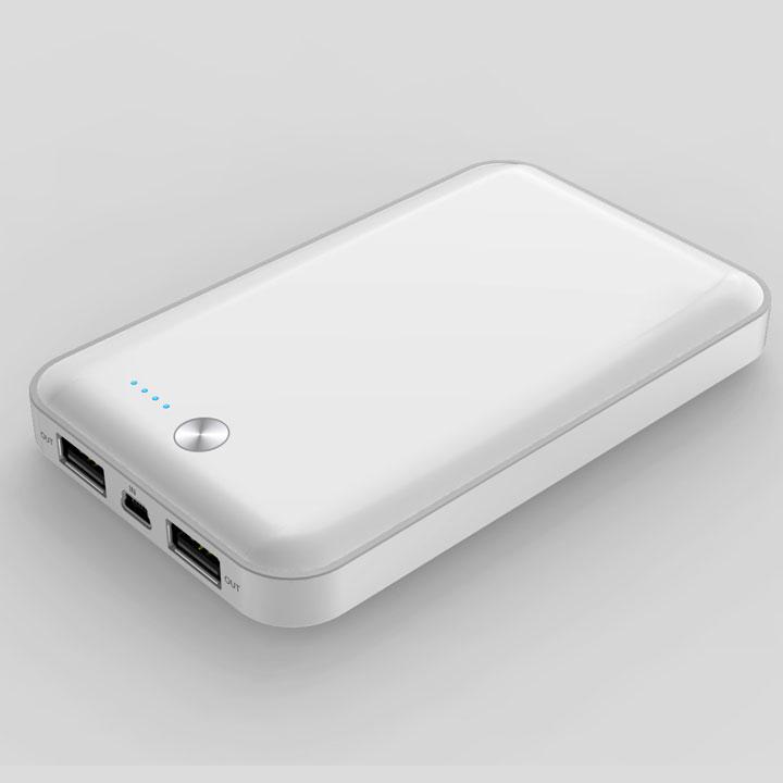 [7000mAh] cheero Powerbox モバイルバッテリー ホワイト MicroUSB