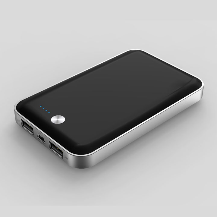 [7000mAh] cheero Powerbox モバイルバッテリー ブラック MicroUSB