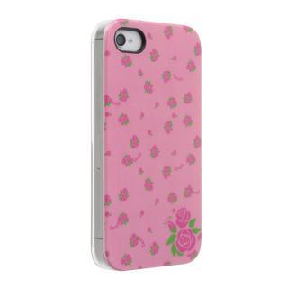 [8月特価]Petit Flower ローズ iPhone 4s/4 ケース