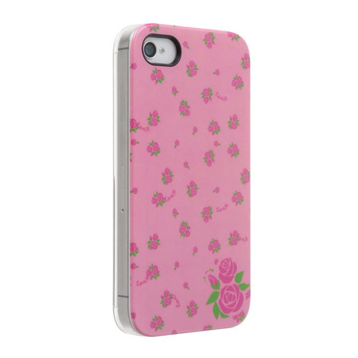 Petit Flower ローズ iPhone 4s/4 ケース