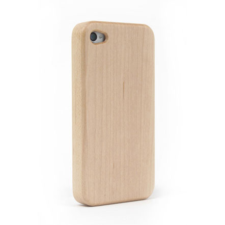 iPhone4/4s Nature wood/white iPhone4/4s