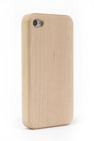 その他のiPhone/iPod ケース iPhone4/4s Nature wood/white iPhone4/4s