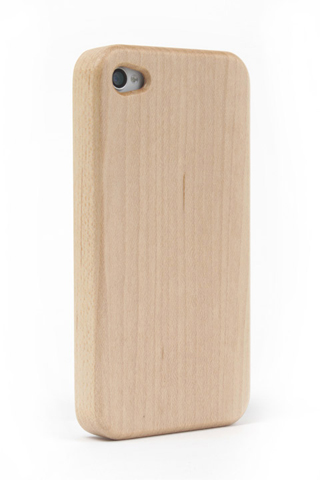 その他のiPhone/iPod ケース iPhone4/4s Nature wood/white iPhone4/4s