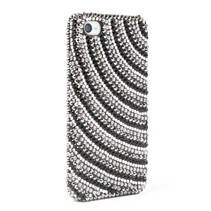 Sparking Black&Silber iPhone4/4s
