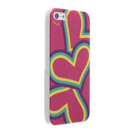 iPhone5 Pop Heart Pink