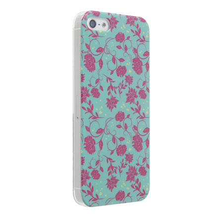 iPhone5 Petit Flower Green