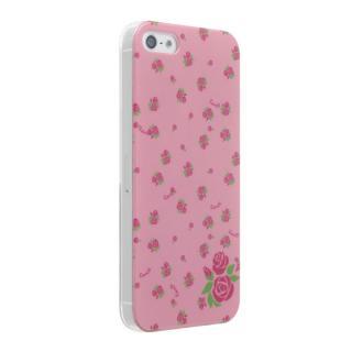 iPhone SE/5s/5 ケース iPhone5 Petit Flower Rose