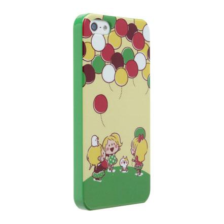 【iPhone SE/5s/5】カナヘイ コラボケース 「ふうせん」