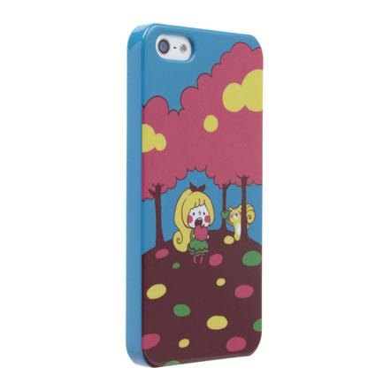 【iPhone SE/5s/5】カナヘイ コラボケース  「リス」