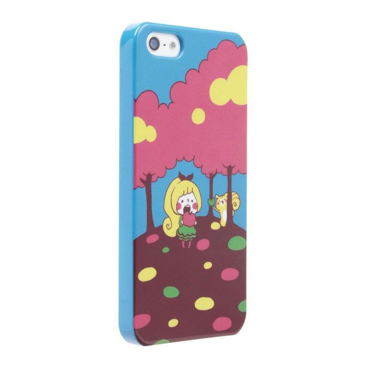 iPhone SE/5s/5 ケース 【iPhone SE/5s/5】カナヘイ コラボケース  「リス」_0