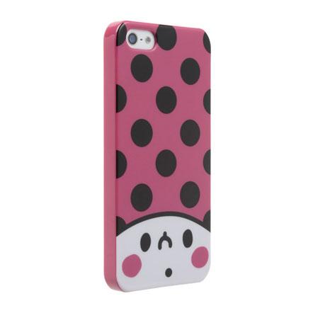 【iPhone SE/5s/5】カナヘイ コラボケース 「ドット」