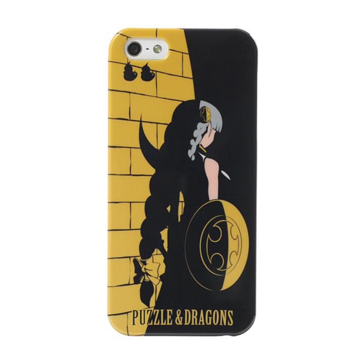 パズドラ iPhone SE/5s/5ケース ヴァルキリー(イエロー)